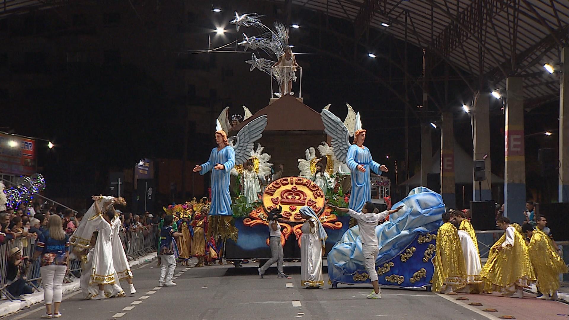 Mocidade Alegre é eleita campeã do carnaval de Taubaté