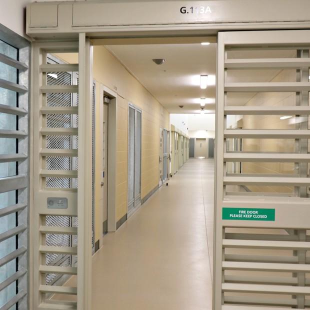 Área das celas da prisão de Auckland, na Nova Zelândia (Foto: Department of Corrections Ara Poutama Aotearoa )