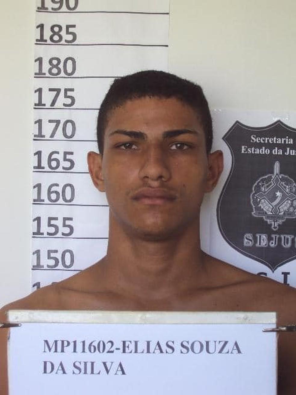 Elias Souza da Silva — Foto: Aspra/Divulgação