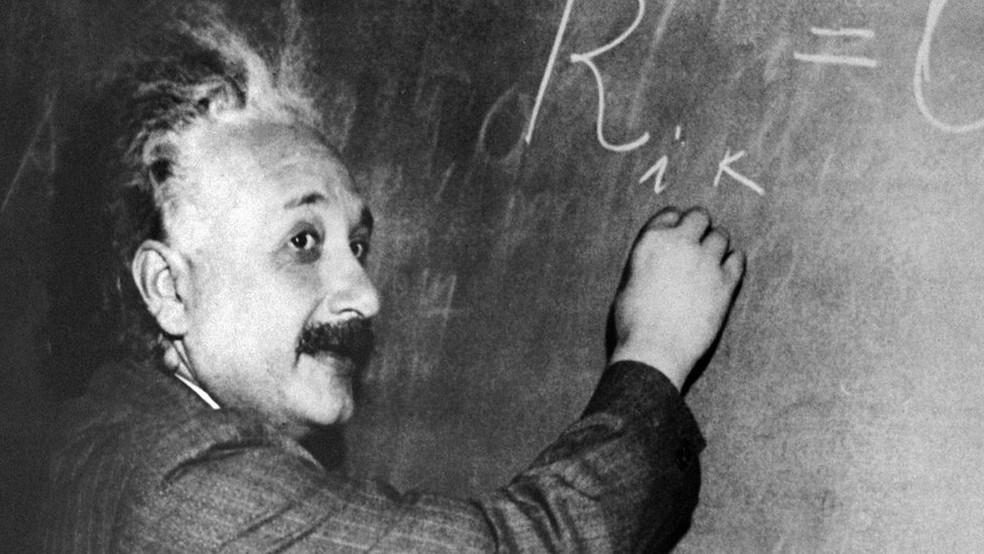 -  Albert Einstein escreveu os diários entre outubro de 1922 e março de 1923  Foto: AFP/Getty