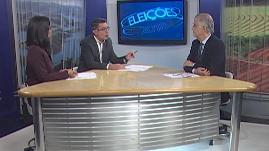 Márcio França, candidato no 2º turno na disputa pelo governo de São Paulo pelo PSB, é entrevistado pelo Diário TV
