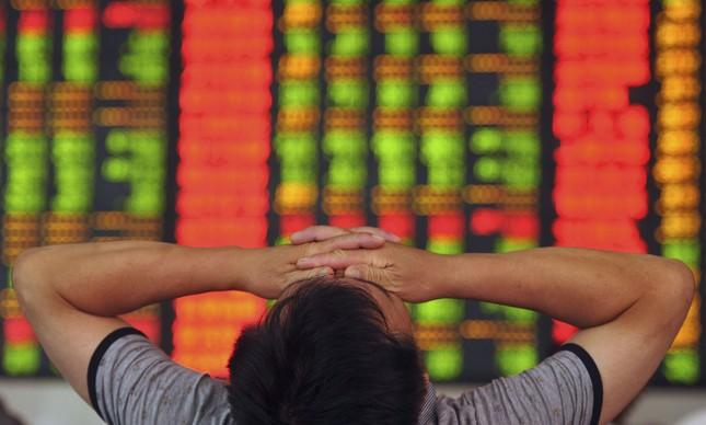 Investidor na bolsa na China