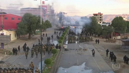 Governo boliviano isenta Forças Armadas de responsabilidade criminal por mortes em protestos