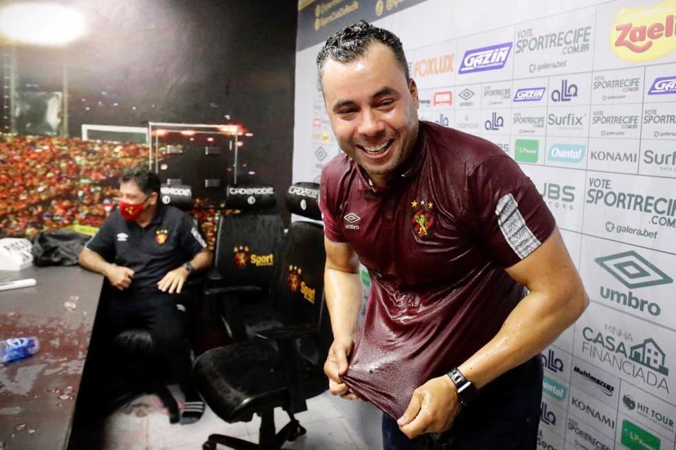 Foto que serviu de inspiração para a tatuagem de Victor — Foto: Anderson Stevens / Sport Club do Recife