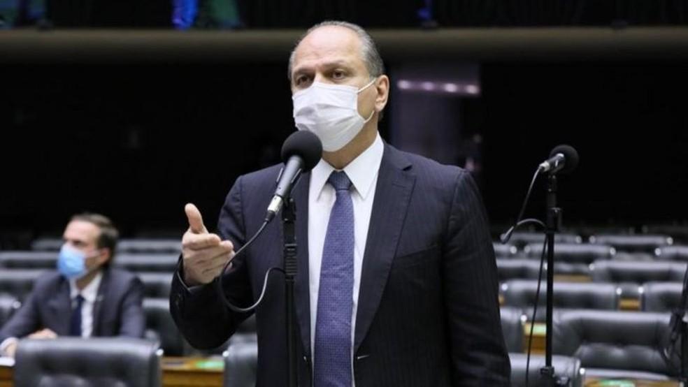 Ricardo Barros (PP-PR), líder do governo Bolsonaro na Câmara — Foto: Michel Jesus/Câmara dos Deputados
