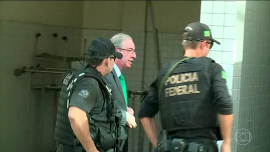 Eduardo Cunha é transferido de Curitiba para o Rio de Janeiro