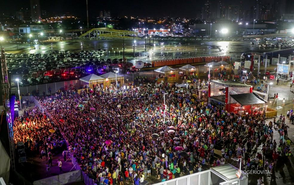 Zezé di Camargo e Luciano fazem show no São João de Natal 2019 — Foto: Rogério Vital