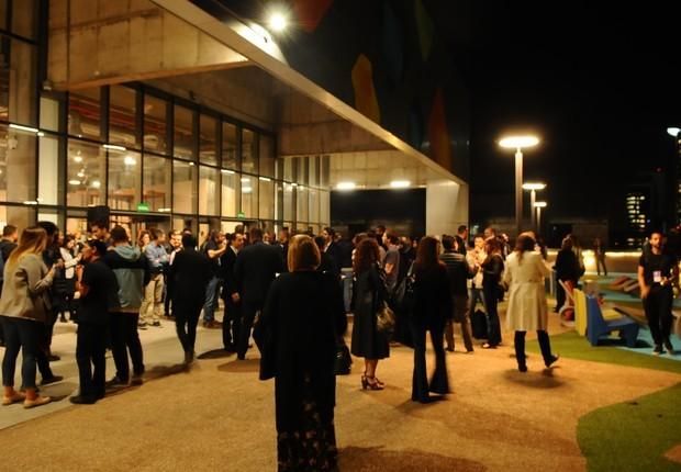 Evento ocorreu no Cubo Itaú (Foto: Rafael Jota)
