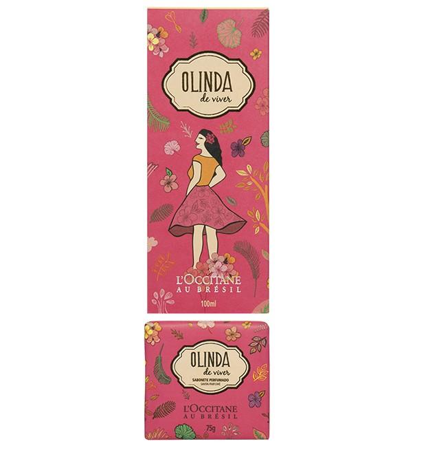 L'Occitane Au Brésil lança o perfume Olinda de Viver (R$ 119) (Foto: Divulgação)