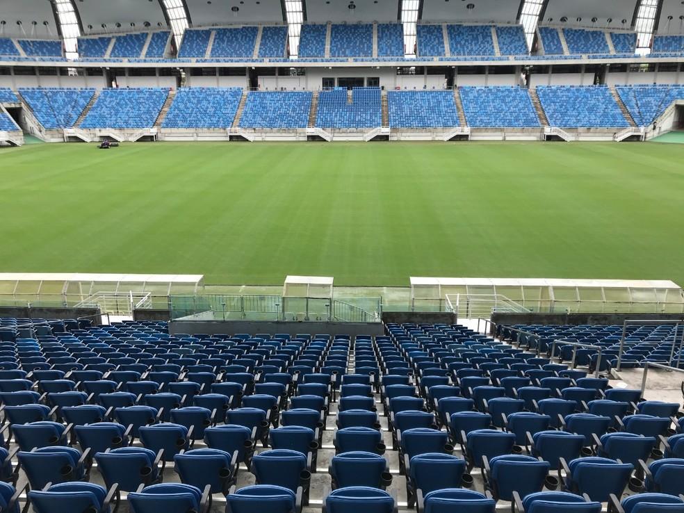 Arena das Dunas recebe Santa Cruz x ABC na terça-feira — Foto: George Fernandes/Arena das Dunas