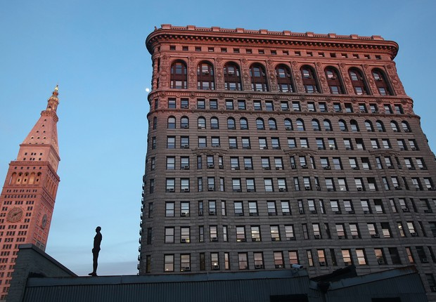 Empresa de coworking WeWork quer alugar o clássico Flatiron, em NY (Foto: Mario Tama / Getty Images)