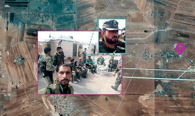 A guerra civil na Síria começou em 2011. Em 2016, na batalha pela cidade de Alepo, tropas dos dois lados, governo e rebeldes, cometeram crimes de guerra. O DFRLab usou o rastro digital de soldados e moradores para denunciar o ocorrido (Foto: Reprodução Atlantic Council's DFRLab/ googlemaps)