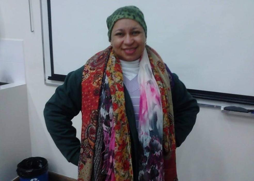Adriane Cruz, moradora de Sorocaba, foi diagnosticada com câncer de mama em 2013 — Foto: Adriane Maria Cruz/Arquivo pessoal