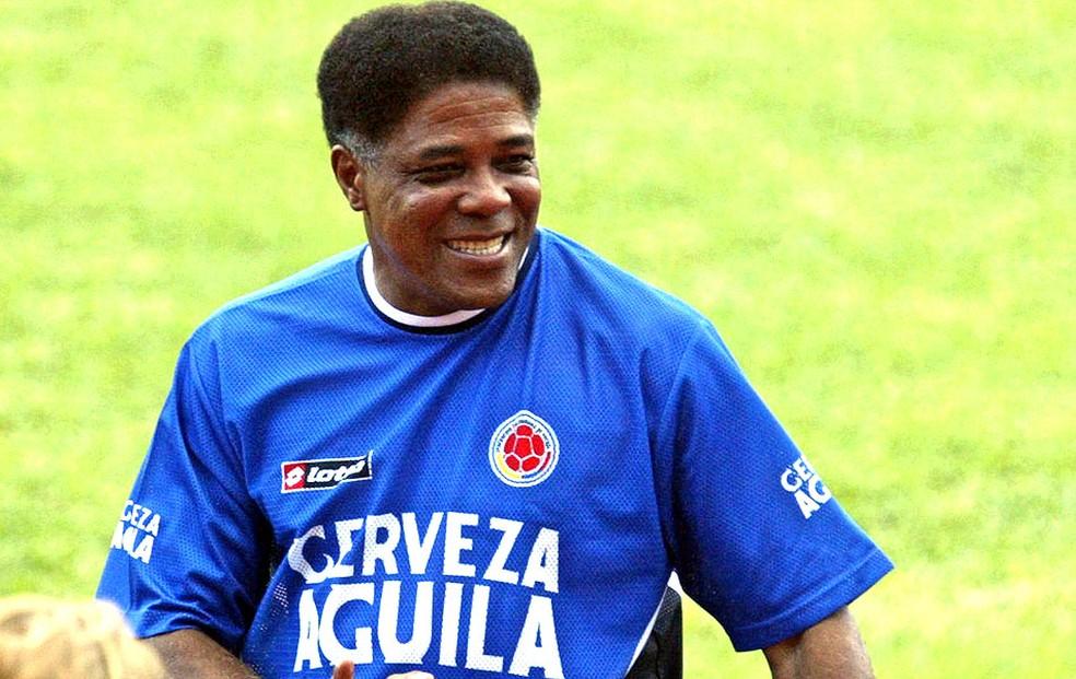 Francisco Maturana técnico Colômbia arquivo — Foto: AFP