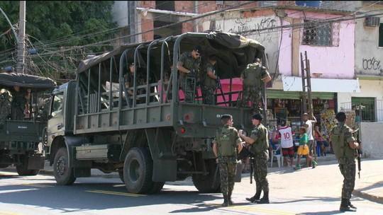 Exército reforça segurança no Rio para visita de Temer