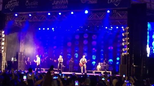 Melim toca sucessos na Festa Junina de Sorocaba e anuncia novo single