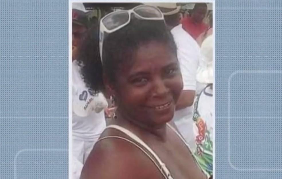 Suse Bonfim foi morta a facadas no bairro de Paripe — Foto: Reprodução/TV Bahia