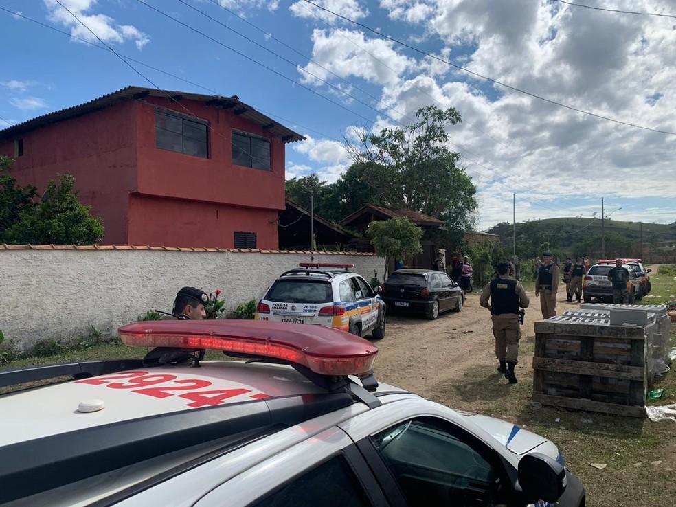 Estudante morreu baleada em baile funk clandestino em São Sebastião da Bela Vista (MG) — Foto: Polícia Militar