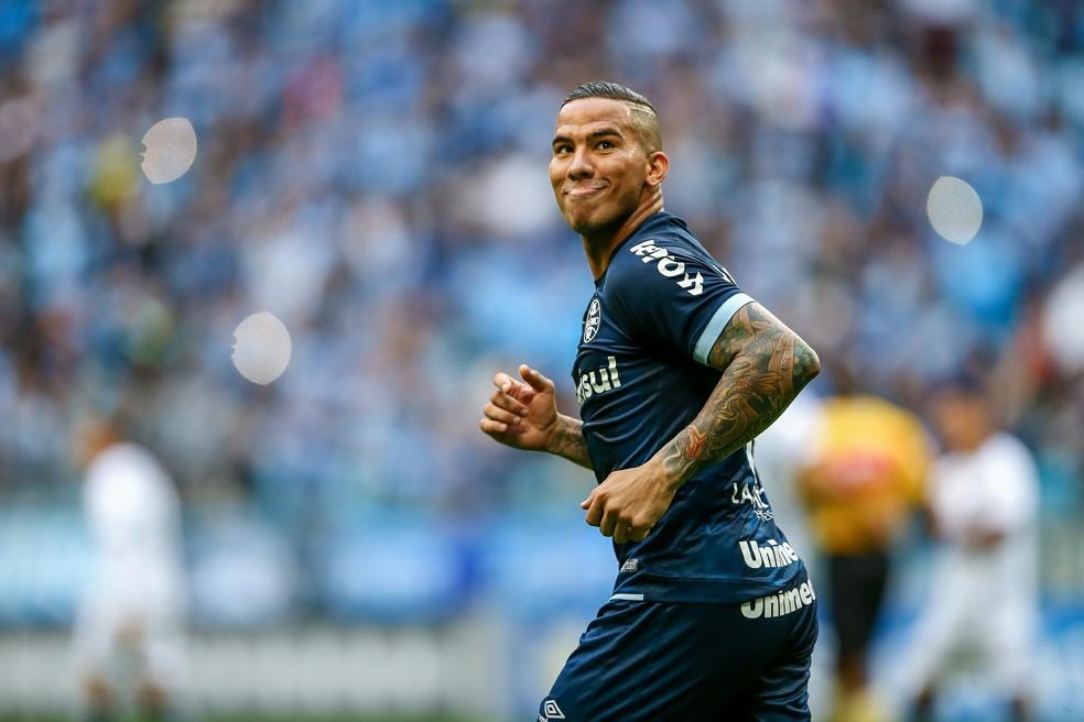 Jael deve renovar por dois anos — Foto: Lucas Uebel/Divulgação Grêmio
