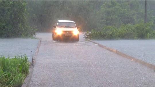 No Tocantins, por causa da chuva seis municípios decretam emergência