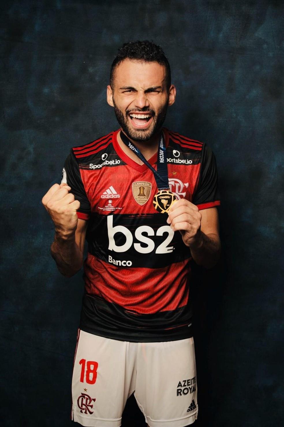 Thiago Maia Flamengo — Foto: Divulgação Conmebol