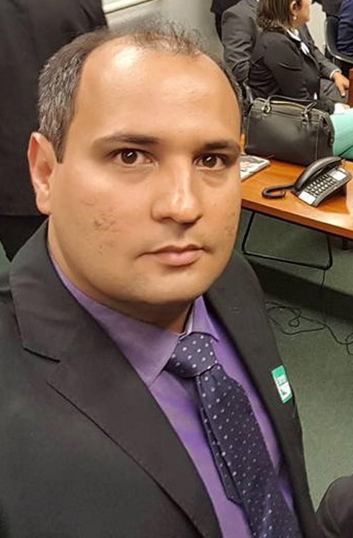 Rodrigo Oliveira, atual prefeito de Olho d'Água das Cunhãs — Foto: Prefeitura de Olho d'Água das Cunhãs