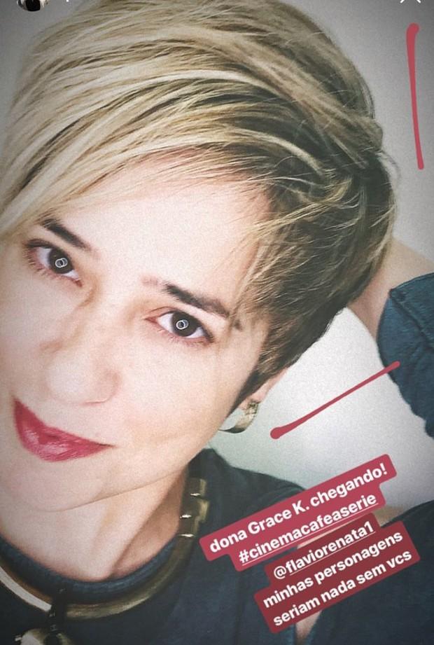 Paloma Duarte arrasa com seu novo visual  (Foto: Reprodução/Instagram)