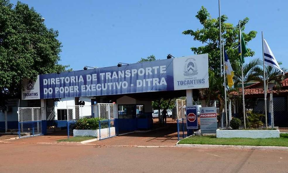 Veículos oficiais serão recolhidos e colocados na garagem oficial — Foto: Aldemar Ribeiro/Governo do Tocantins