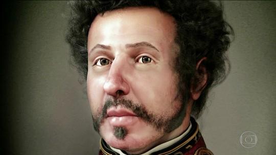Impressão 3D apresenta aos brasileiros seu primeiro imperador