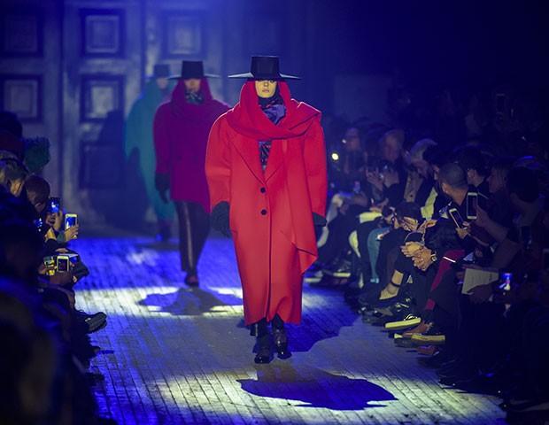 A semana de moda de Nova York abriu a temporada internacional de inverno (Foto: Imaxtree)