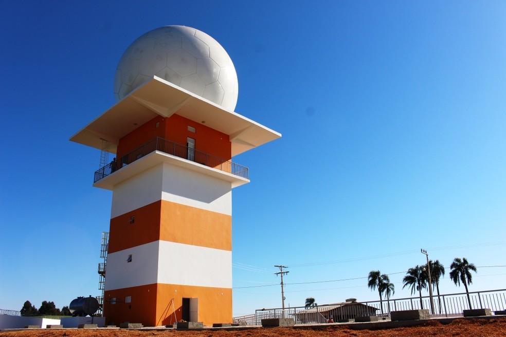 Radar meteorológico do Oeste será inaugurado em 25 de agosto, diz Defesa Civil de SC | Santa Catarina | G1