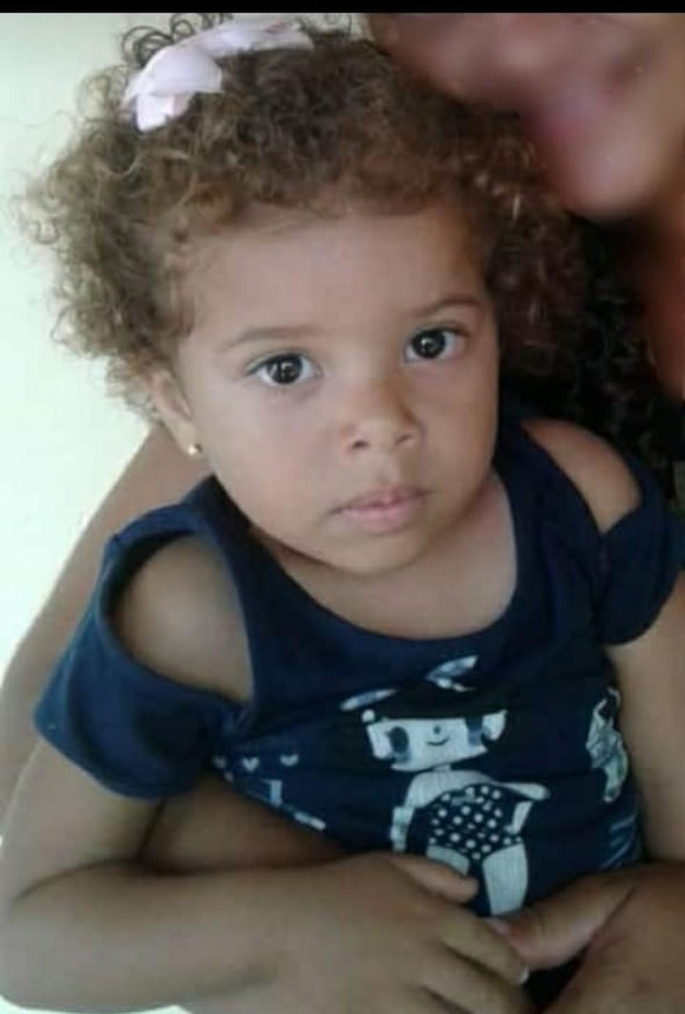 Bianca tinha cinco anos e morreu após ser picada por um escorpião — Foto: Arquivo pessoal