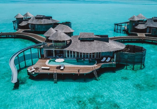 Resort  Soneva Fushi (Foto: Reprodução Facebook)