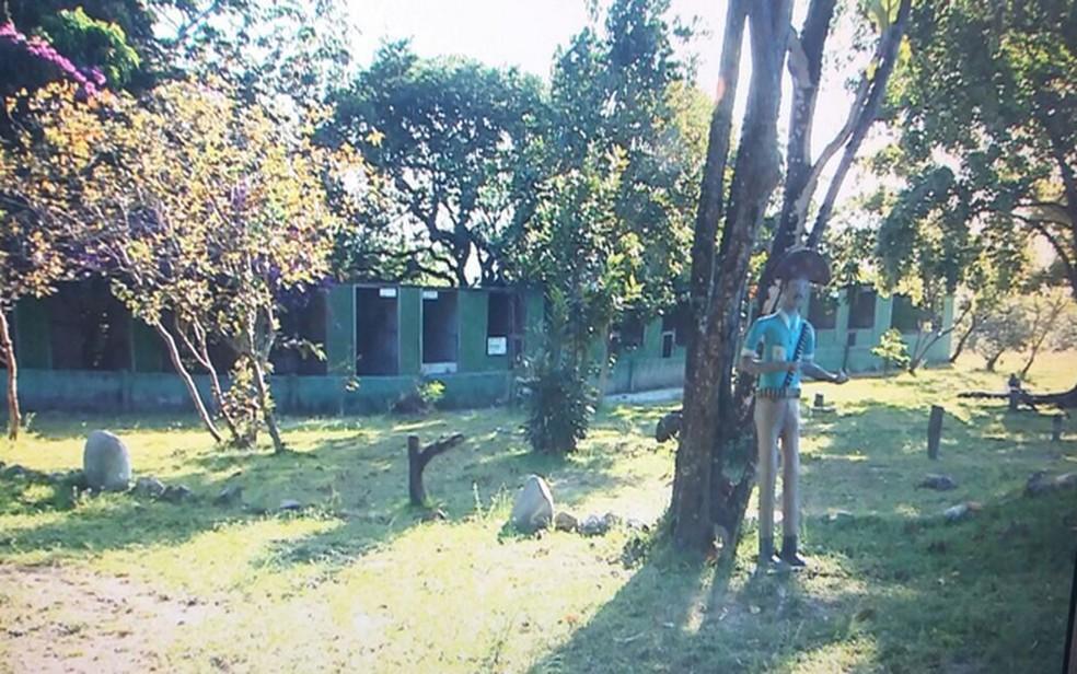 Sede do Parque dos Falcões (Foto: TV Sergipe)