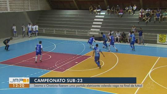 Em jogo de viradas, Seama vence o Oratório e vai para a final do Campeonato Sub-23