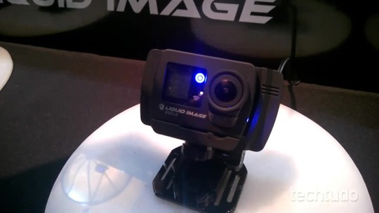 Rival da GoPro na CES 2015 tem conexão 4G e transmite para YouTube