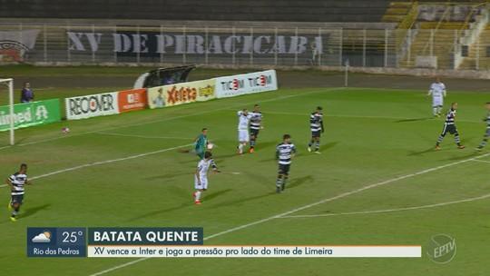 """Fim do jejum do XV na Copa Paulista deixa Fahel aliviado: """"Merecemos vencer"""""""