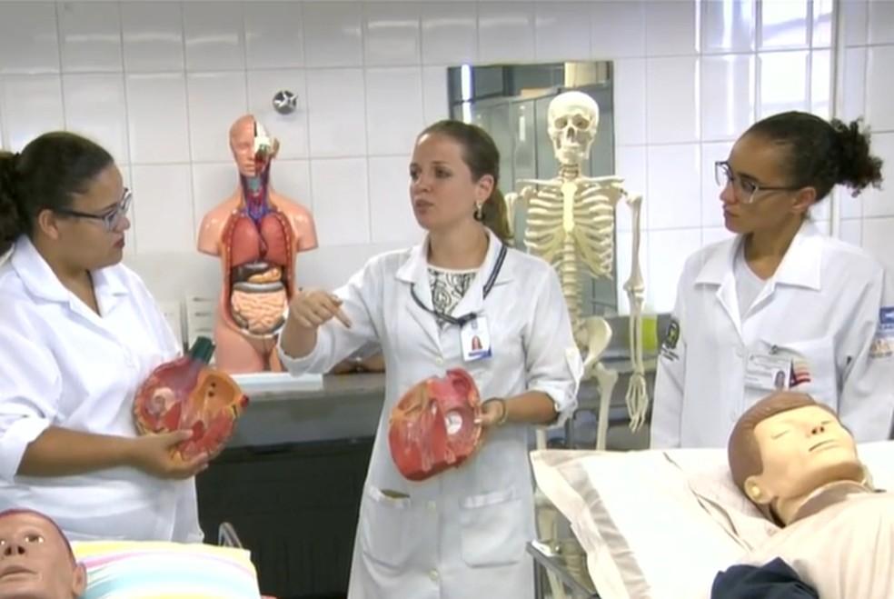 Entre as vagas, há oportunidades para curso de enfermagem  â?? Foto: Reprodução/EPTV