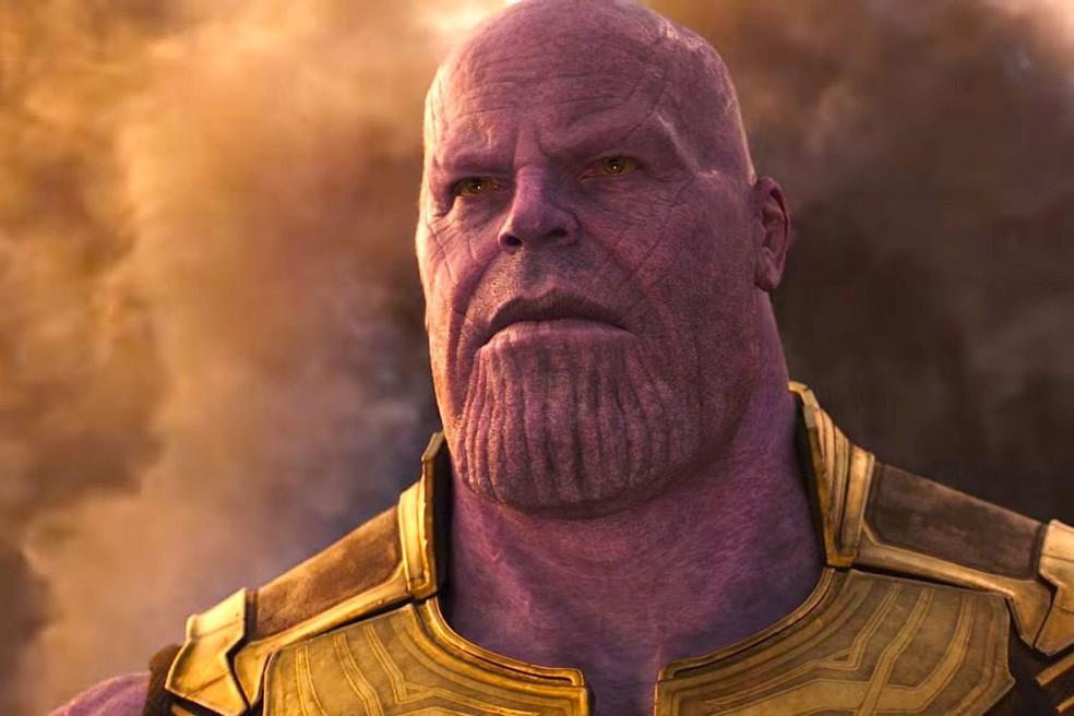 Dinossauro foi batizado como Thanos, vilão da Marvel — Foto: Divulgação