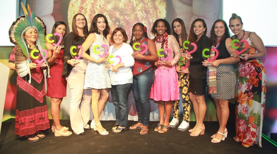 Vencedoras do Prêmio Consulado da Mulher 2018 (Foto: Divulgação)