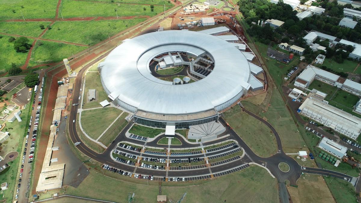 Resultado de imagem para  Sirius, a nova fonte de luz síncrotron do Brasil,