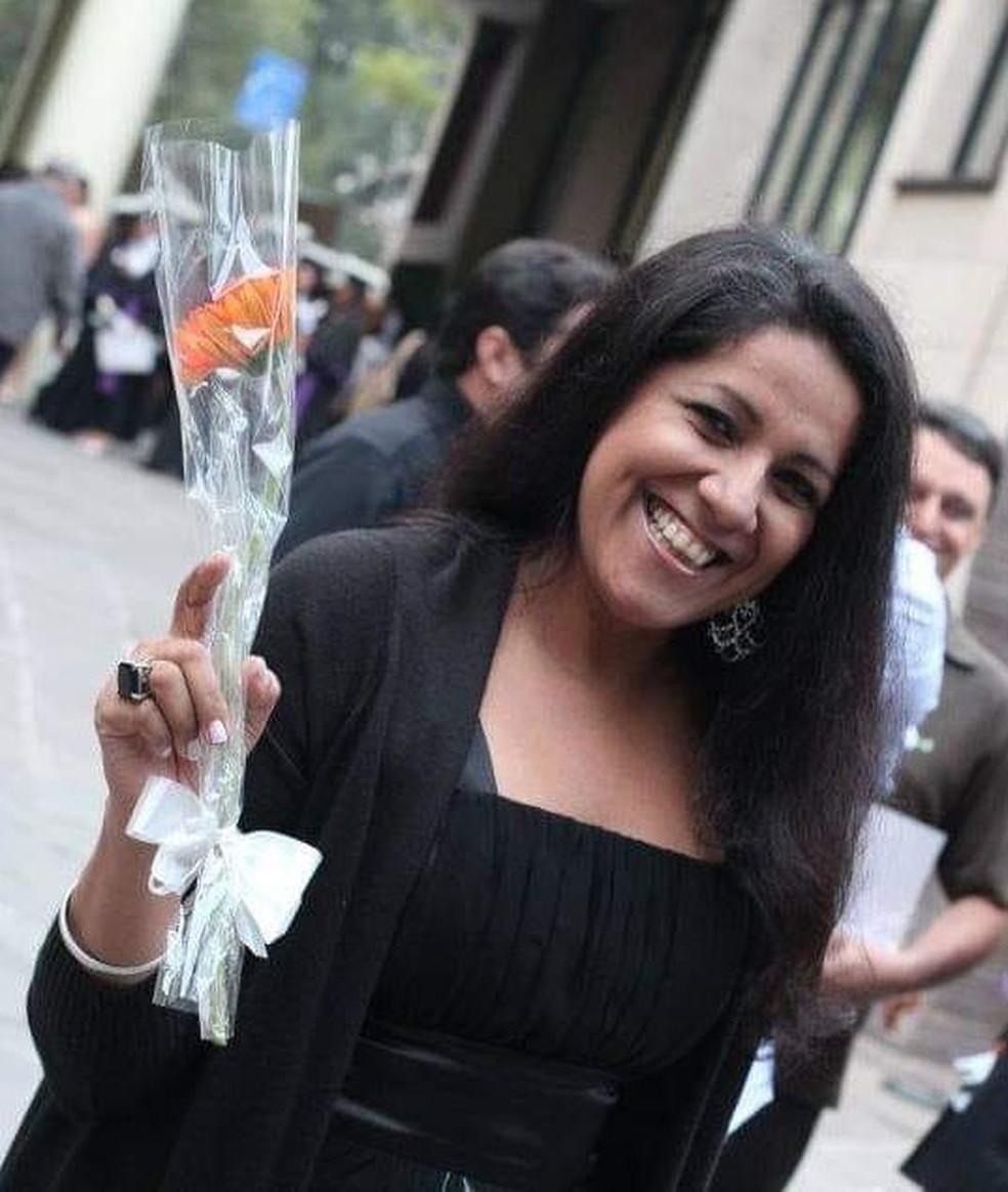 Joselita Felix foi morta pelo ex-companheiro em Rondônia — Foto: Facebook/Reprodução