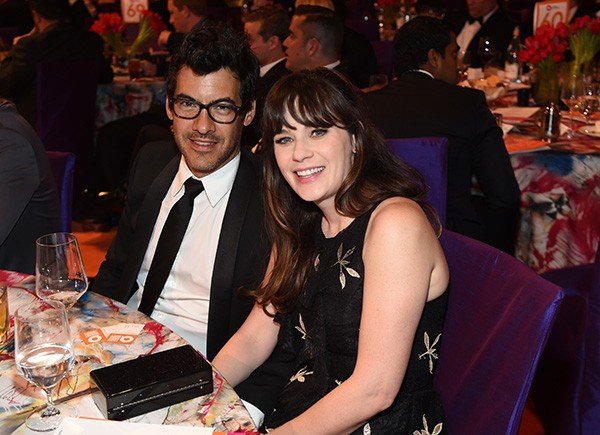 Zooey Deschanel e o ex-marido Jacob Pechenik (Foto: Getty Images)
