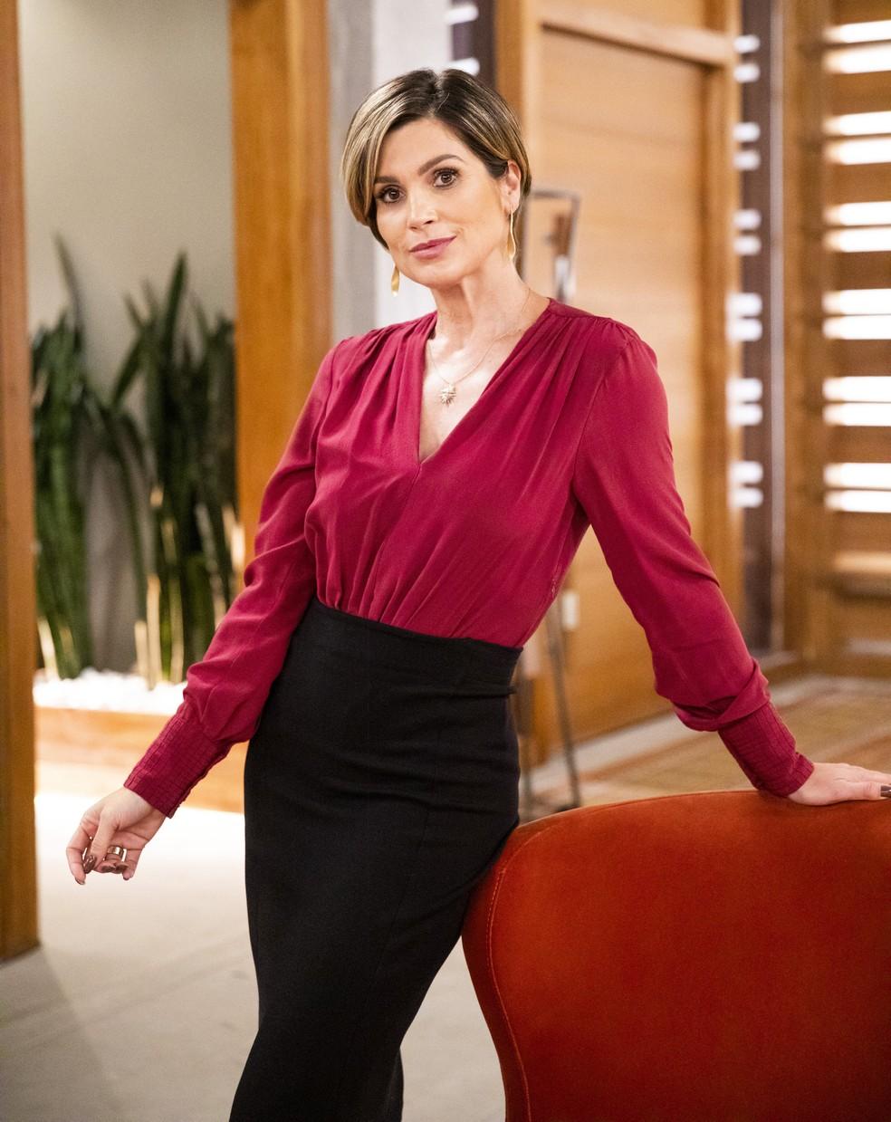 Flávia Alessandra como Helena na segunda fase de 'Salve-se Quem Puder' — Foto: Victor Pollak/Globo