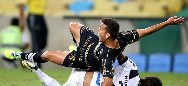 Alex jogo Botafogo contra a Ponte Preta (Foto: Satiro Sodre / SSPress)