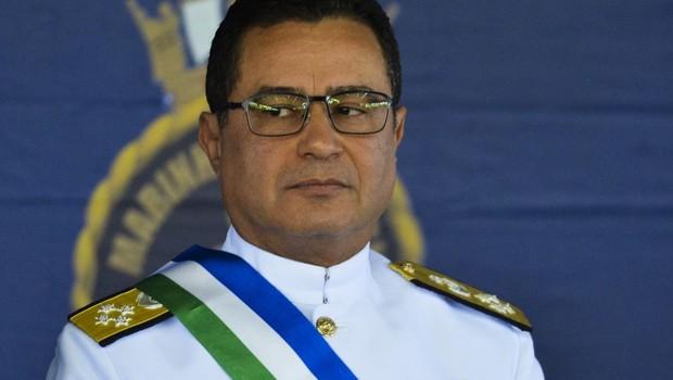 Ministério da Defesa, almirante Almir Garnier (Foto: Valter Campanato/Agência Brasil)