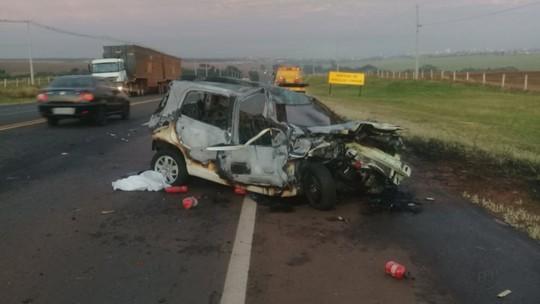 PM com sinais de embriaguez é detido após acidente com morte em rodovia de Araraquara, SP