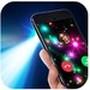Lanterna mais forte - Luz LED, tela de chamadas