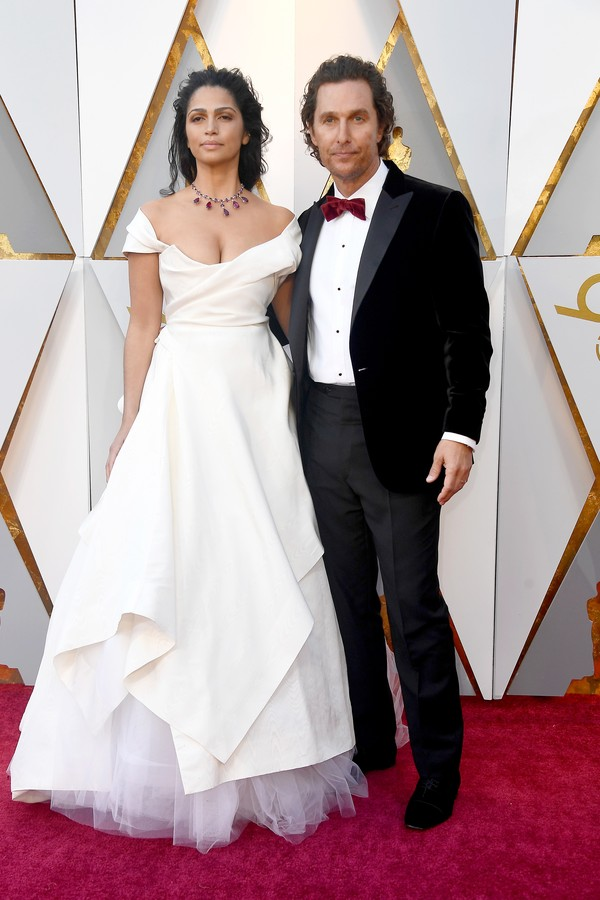 Camila Alves e Matthew McConaughey (Foto: Getty Images)