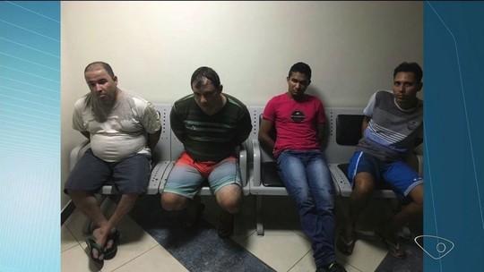 Quatro suspeitos de roubar R$ 77 mil de Correios em Aracruz são presos